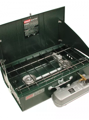 Coleman Powerhouse Dual Fuel 2-Burner Stove