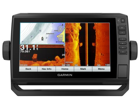 Garmin® echoMAP™ Plus 93sv with GT52 Transducer Fish Finder/Chartplotter Combo