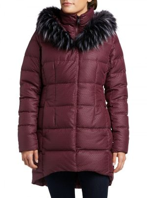The North Face Women's Fur Hooded Down Parkina